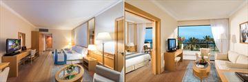 Junior Suite and One Bedroom Suite at Constantinou Bros Asimina Suites