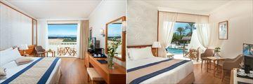 Classic Room and Superior Swim Up Room at Constantinou Bros Athena Beach Hotel