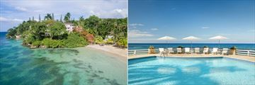 Couples San Souci, Jamaica, Aerial View of Hotel and Pool