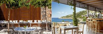 Ocean Restaurant and Taverna Restaurant at Daios Cove Luxury Resort & Spa