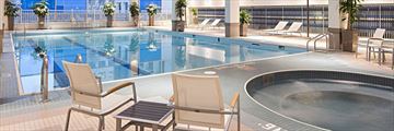 Delta Hotels by Marriott Winnipeg, Pool Deck