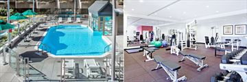 Pool and Fitness Centre at Delta Quebec City