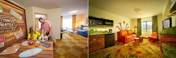 Disney's Art of Animation Resort, Cars Family Suite and Family Suite
