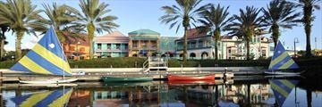 Disney's Caribbean Beach Resort, Exterior