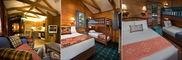 Cabin Interiors at Disney's Fort Wilderness Resort & Campground