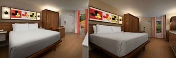 Standard Room and Preferred Room at Disney's Pop Century Resort