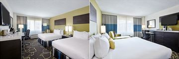 DoubleTree by Hilton Hotel Charlotte, Two Double Beds and King Bedroom