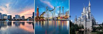 Downtown Orlando, Universal & Walt Disney World theme parks