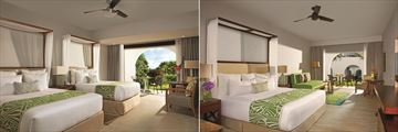 Dreams Dominicus La Romana, Deluxe Tropical View Room and Deluxe Suite Tropical View