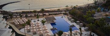 Aerical view of Dreams Lanzarote Playa Dorada Resort & Spa