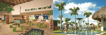 Now Onyx Punta Cana, Explorers' Club Indoor and Outdoor Play Area