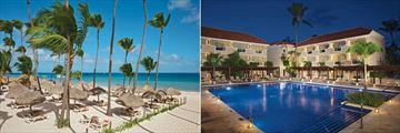 Dreams Palm Beach Punta Cana, Beach and Pool
