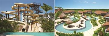 Dreams Playa Mujeres Golf & Spa Resort, Water Slide and Lazy River and Preferred Club Two Bedroom Villas
