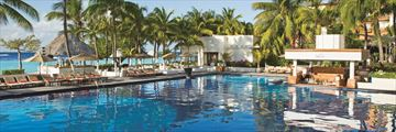Dreams Sands Cancun Resort & Spa, Main Pool and Manatees Swim-Up Bar
