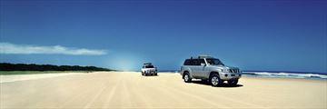 Drive 75 Mile Beach, Fraser Island