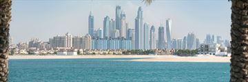 View of Dubai Marina skyline