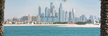 View of Dubai Marina skyline