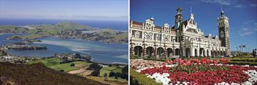The city of Dunedin, New Zealand