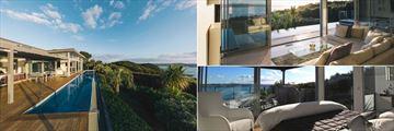 Eagles Nest Villas, Eagle Spirit Villa Pool, Living Room and Bedroom