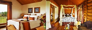 Standard Room and Honeymoon Cabin at Echo Valley Ranch & Spa