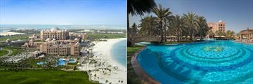 Emirates Palace, Aerial View and Las Brisas Pool