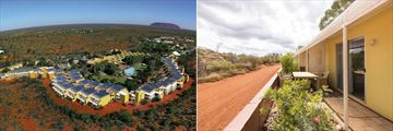 Emu Walk Apartments, Aerial View of Ayers Rock Resort and Exterior of Apartments