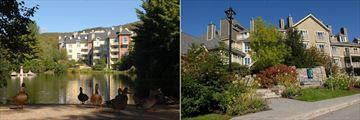 Les Suites de Tremblant - Ermitage du Lac, Exterior Overlooking Lake and Entrance