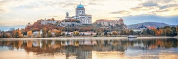 Esztergom, Hungary - a view from Danube River