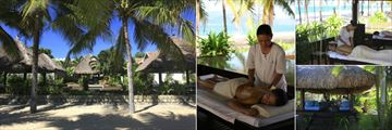 Evason Ana Mandara Nha Trang, Spa Pavilions, Back Massage, Couples Treatment Pavilion and Relaxing Sala at Spa
