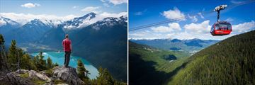 Exploring the mountains & landscapes in Whistler