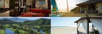 The Facilities at Shangri-La's Rasa Ria Resort & Spa