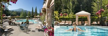Fairmont Chateau Whistler, Outdoor Pool