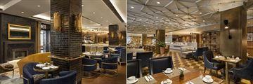 Fairmont Le Chateau Frontenac, Bistro and Le Sam Dufferin Restaurant