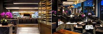 Fairmont Waterfront, ARC Restaurant and ARC Bar