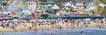 Family fun in Santa Cruz, California