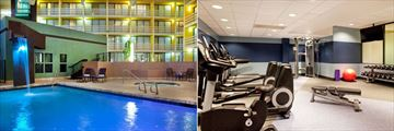 Four Points by Sheraton Phoenix North, Pool and Whirlpool and Fitness Centre