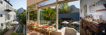 Four Rosmead, Exterior, Dining Area, Poolside and Mountain Views and Breakfast Buffet