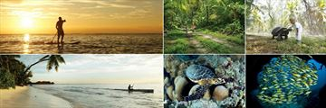 Four Seasons Resort Seychelles at Desroches Island, Stand Up Paddle, Cycling, Giant Aldabra Tortoise, Fish, Turtle and Kayaking