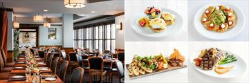 The Swamp Fox Restaurant and Various Dining Options at Francis Marion Hotel