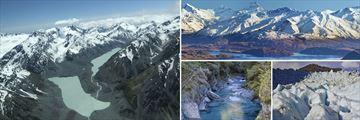 Franz Josef Glacier, Haast Pass & Fox Glacier