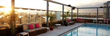 Gansevoort Meatpacking, Rooftop Pool