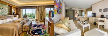 King Suite and Junior Suite at Gloria Golf Resort