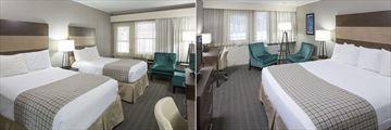 Golden Eagle Resort, Premier Two Queen Beds and Premier King Room