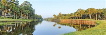 Golf course in Hilton Head, South Carolina