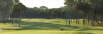 Beautiful golf courses in Belek, Turkey
