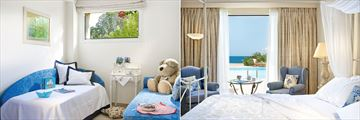 Famous Family Bungalow Sea View with Private Pool at Grecotel Kos Imperial