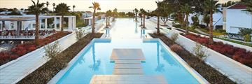 The main pool at Grecotel LUX ME Dama Dama