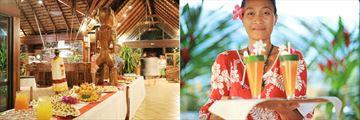Hanakee Hiva Oa Pearl Lodge, Dining Options