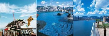 Harbour Grand Kowloon, Private Pier, Rooftop Pool and Lower Pool Deck