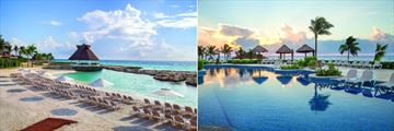 Hard Rock Hotel Riviera Maya, Beach and Pool at Sunrise